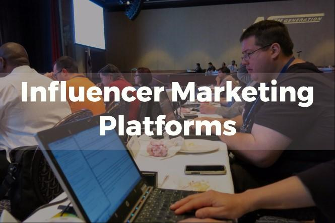 influencer marketing platforms