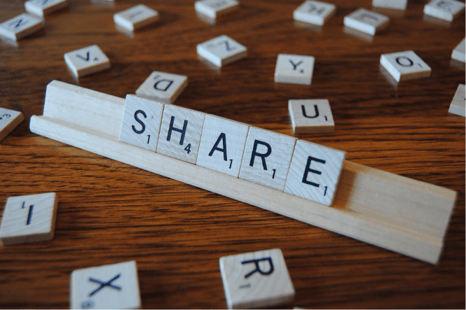 Share content to make friends